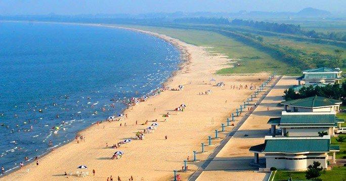 Пляжи Северной Кореи